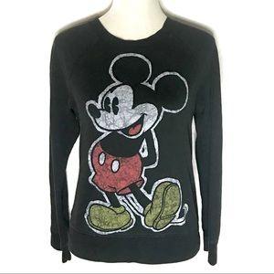 Disney Mickey Punk Graphic Sweatshirt pullover